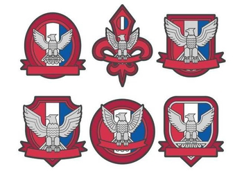 Eagle scout vector - Free vector #404853