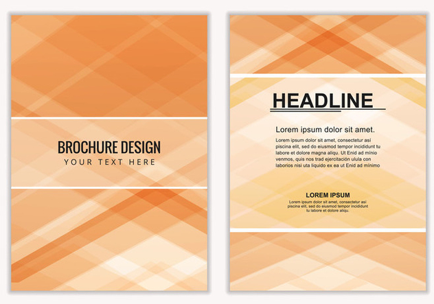 Free Vector Business Brochure - бесплатный vector #405163