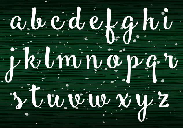 Handwriting Lowercase - бесплатный vector #405223