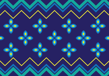 Traditional Songket - Free vector #405243