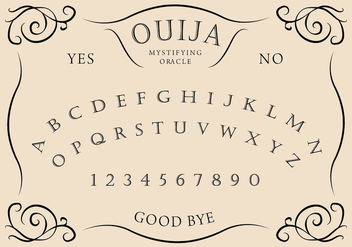 Ouija Board - Free vector #405253