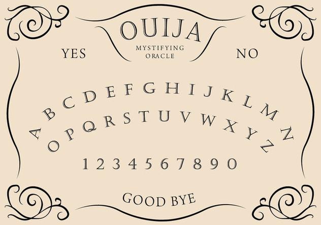 Ouija Board - бесплатный vector #405253