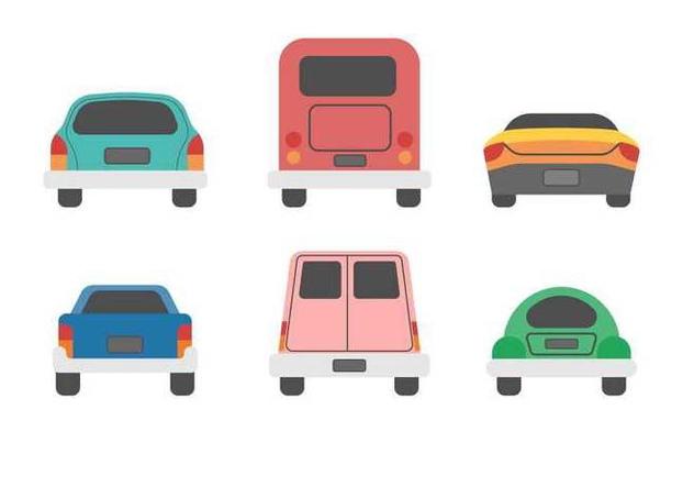 Free Car Boot Vector - бесплатный vector #405363