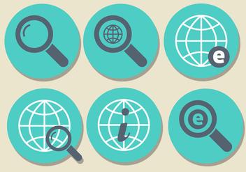 Internet Explorer Icon Set - Free vector #405573
