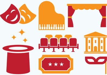 Cinema Retro Icon - Free vector #405833