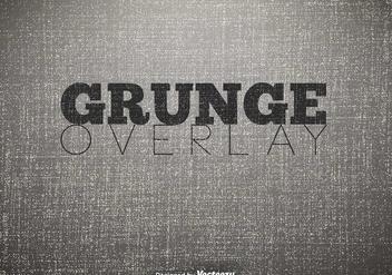 Grunge Texture, Vector - vector #406233 gratis