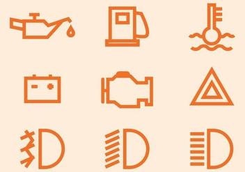 Free Auto Mobile Symbol Vector Icon - Free vector #406723