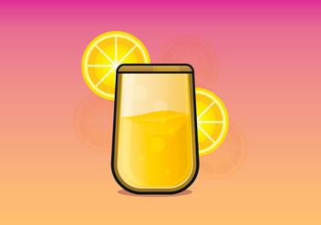 Mimosa Drink Illustration - vector gratuit(e) #407063