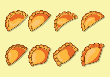 Empanadas Icons - Kostenloses vector #407923