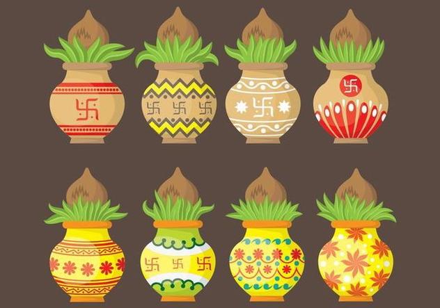 Kalash Icons - vector #407933 gratis