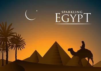 Piramide Egypt Free Vector - Free vector #408323