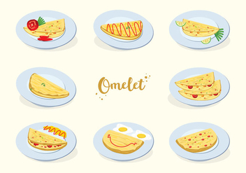 Free Omelet Vector - Free vector #408563