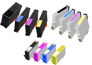 Ink Cartridge Free Vector - Kostenloses vector #408613