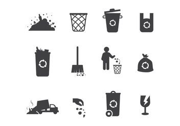 Free Landfill Vector Icons - vector gratuit #408953