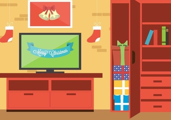 Free Christmas Vector Lounge - Kostenloses vector #409073