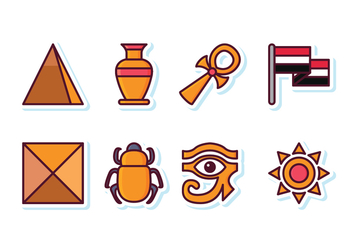 Free Egypt Icon Set - Free vector #409273