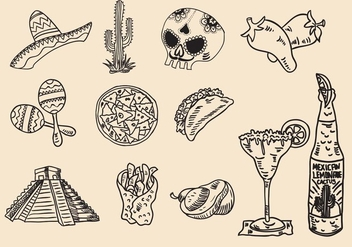 Mexican Huichol Icon - Free vector #409323
