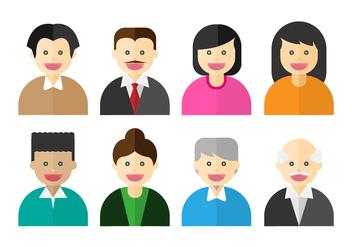 Free People Icon Vector - Kostenloses vector #409853