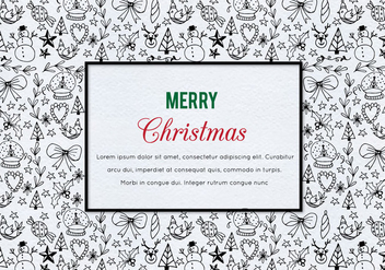 Free Vector Christmas Illustration - Free vector #410053
