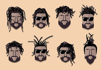 Dreads Culture Vector - бесплатный vector #411093