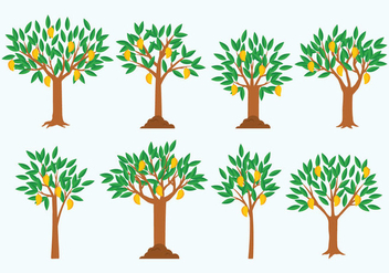 Free Mango Tree Vector - бесплатный vector #411273