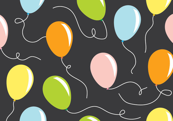 Balloon Pattern - Free vector #411753