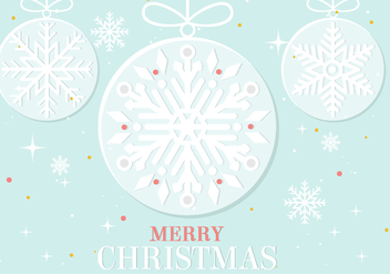 Free Vector Christmas Ornament - Free vector #411843