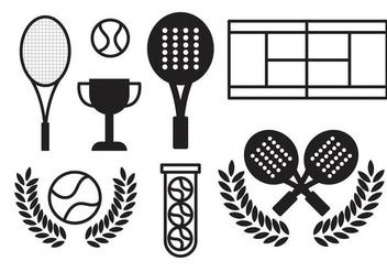 Free Padel Tennis Vector - Kostenloses vector #412253
