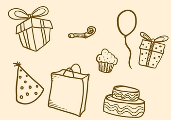 Free Party Favors Vector - Free vector #412823