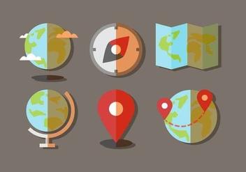 Free Globe Vector - Kostenloses vector #412953