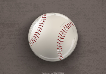 Free Drawn Baseball Vector Illustration - Free vector #413013