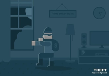Theft Background - Free vector #413903