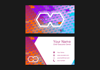 Namecard Free Vector - Free vector #413933