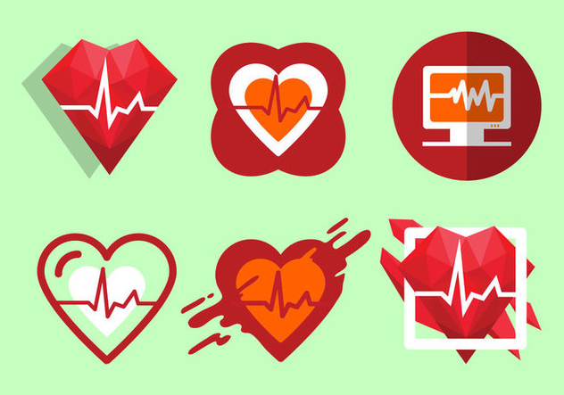 Free Heart Rate Vector Illustration - Free vector #414063