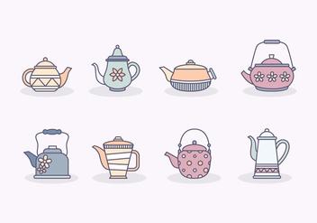 Free Teapot Vector - Free vector #414253