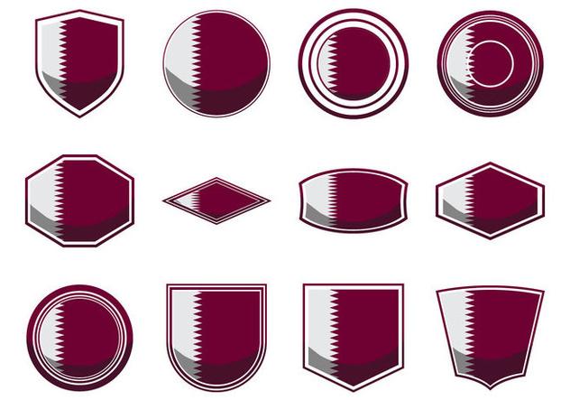 Free Qatar Flag Icon Vector - Kostenloses vector #414443