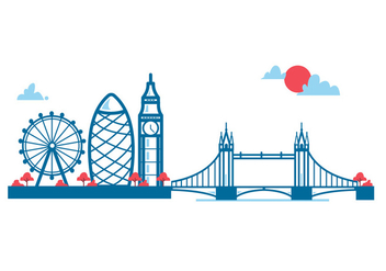 London Vector City - vector #414833 gratis