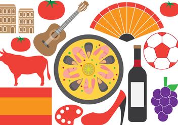 Spanish Symbols - Free vector #414883