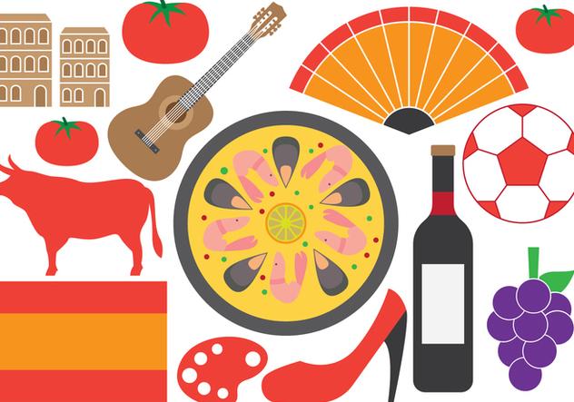 Spanish Symbols - vector #414883 gratis