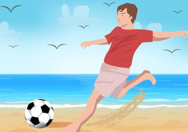 Beach Soccer Sport - vector #414943 gratis