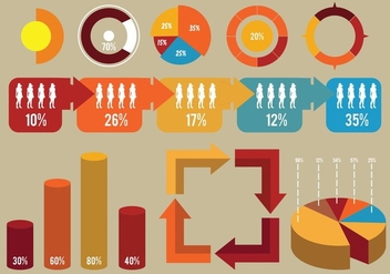 Element And Icon Of Infographic - Free vector #415033