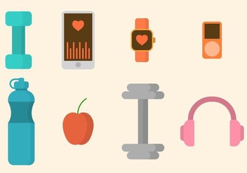 Free Dumbell Vector - Free vector #415573