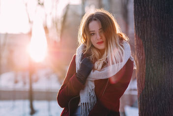 Girl winter potrait - image gratuit #415673
