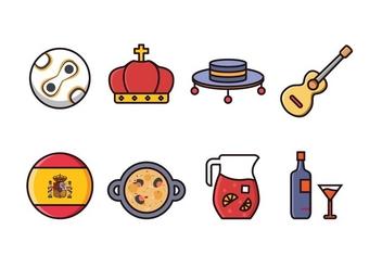 Free Spain Icon Set - Free vector #415853