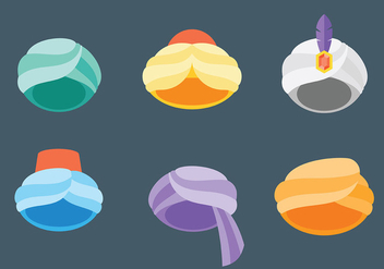 Free Sultan Icons Vector - Free vector #416213