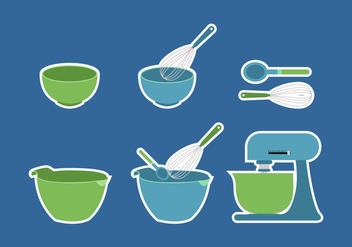 Bowl Cake Utensils - Kostenloses vector #416313