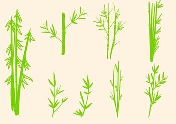 Free Bamboo Vector - Kostenloses vector #416593