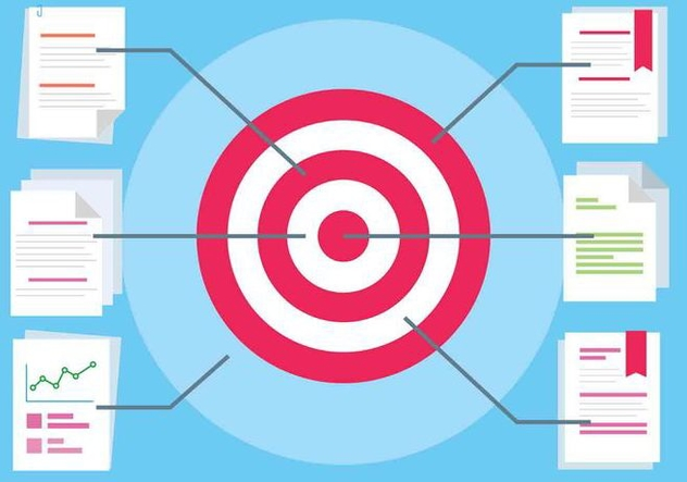 Free Flat Design Vector Target - Free vector #417053