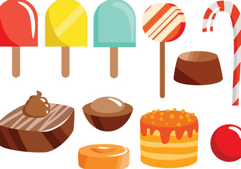 Free Sweets 2 Vectors - Kostenloses vector #417813