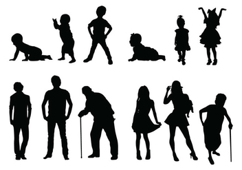 Human Silhouette - Free vector #418053